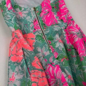 Lilly Pulitzer Dresses - Lilly Pulitzer Girls' Charlie Fit and Flare Dress